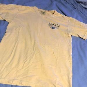 chi omega sigma chi hoco t-shirt